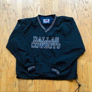 Dallas Cowboy Pro Line Champion Windbreaker